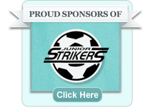 Proud sponsers of the Junior Strikers